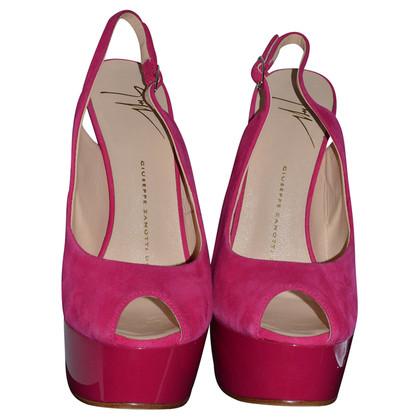 Giuseppe Zanotti Peep-toes with extravagant heels