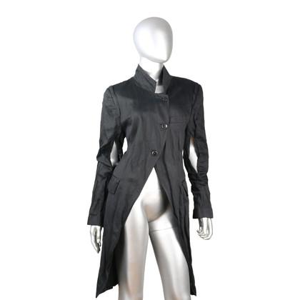 Ann Demeulemeester Coat in black