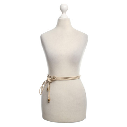 Agnona Belt in Beige