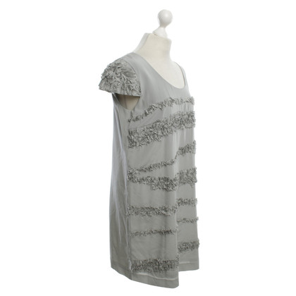 Laurèl Silk dress in grey