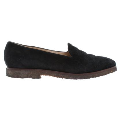 Gucci Pantoffels in zwart