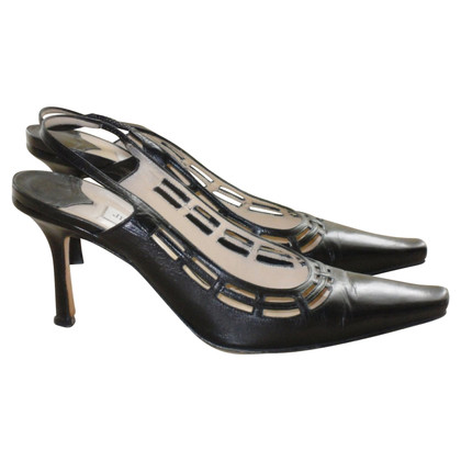 Jimmy Choo Slingback-Pumps in Schwarz