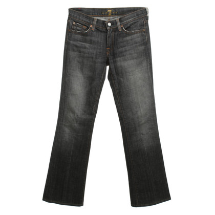 7 For All Mankind Bootcut jeans in grey