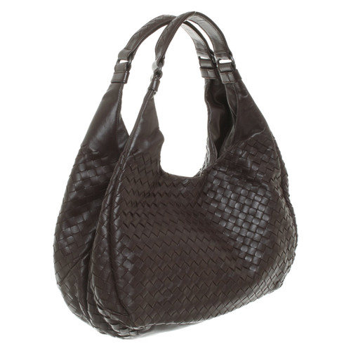 Bottega Veneta Borsetta in Pelle in Marrone - Second hand Bottega ... d54a6831b5f