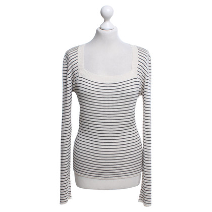 Strenesse Knitted sweater with stripes