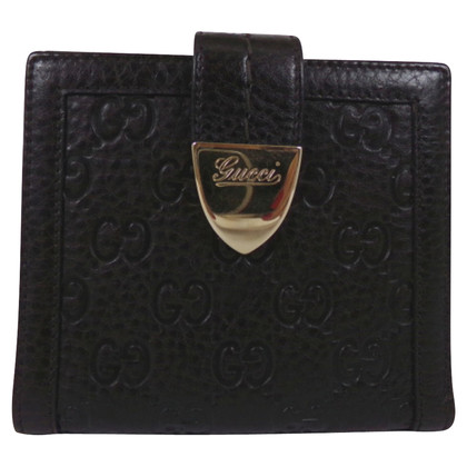 Gucci Portemonnaie mit Guccissima-Muster