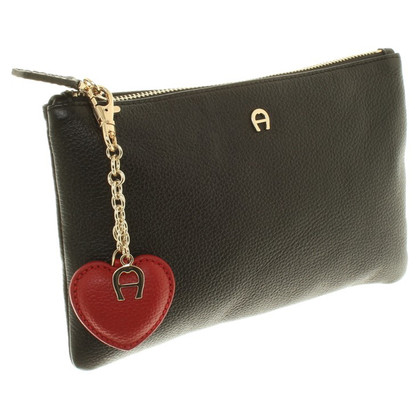 Aigner Bag with heart pendant