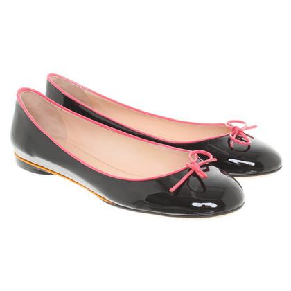 Emilio Pucci Patent leather ballerinas