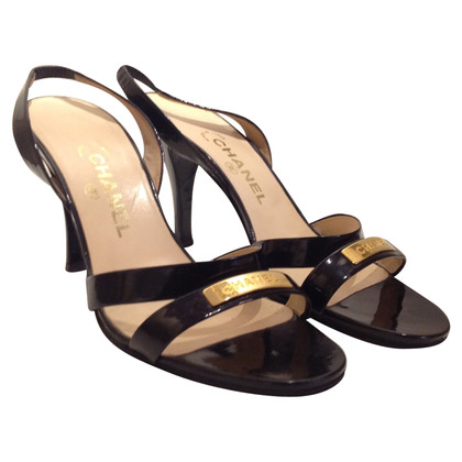 Chanel Sandals of patent leather