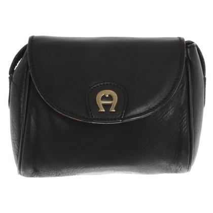 Aigner Black shoulder bag