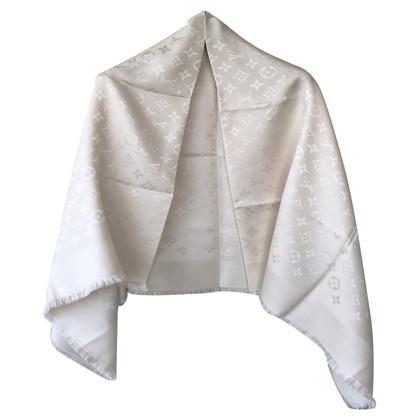 Louis Vuitton Monogram cloth in white
