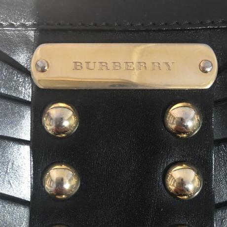 Burberry Ledertasche mit Nieten Schwarz Auslass Zahlung Mit Visa Sast Verkauf Online Erscheinungsdaten Günstig Online Rabatt Wie Viel Bestseller BFGJXQ9