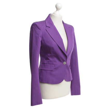 Just Cavalli Blazer in viola
