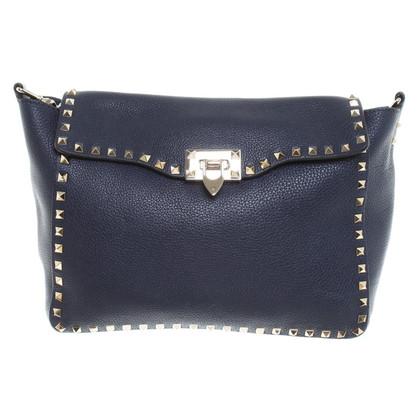 Valentino Bag di spalla con rivetti