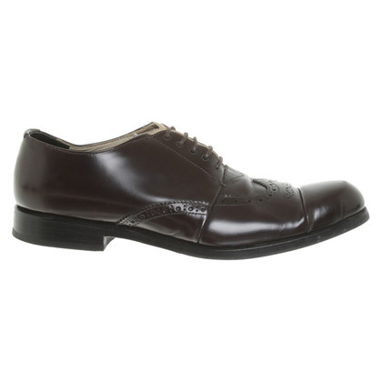 Prada Brogues in brown