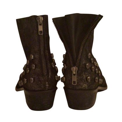 Zadig & Voltaire Boots in metal optics