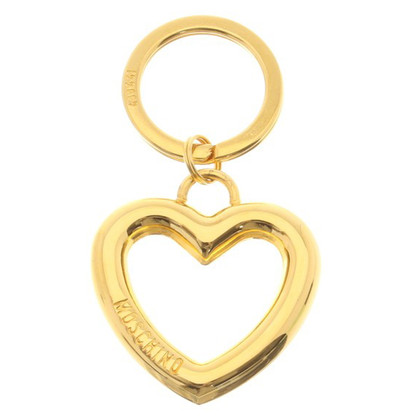 Moschino Key ring with heart motif
