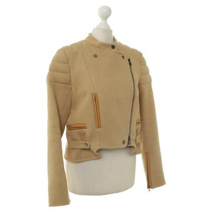 Carven Jacke mit Bikerstil-Elementen
