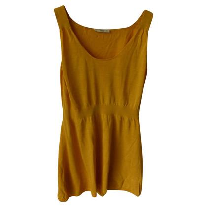Prada Silk top in yellow