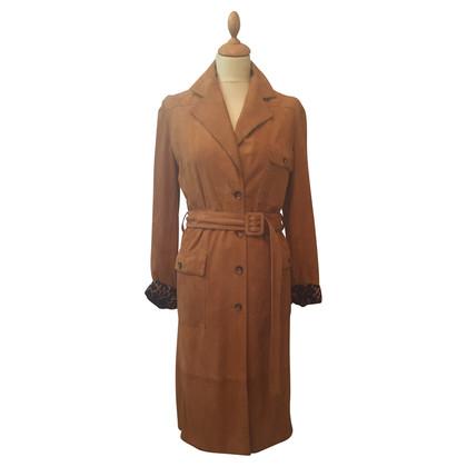 Dolce & Gabbana Trench coat in pelle scamosciata