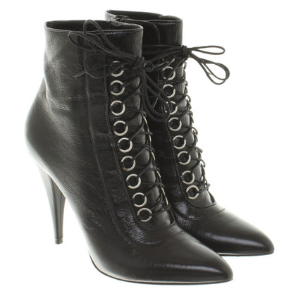 Saint Laurent Pinettes en cuir