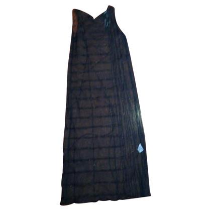 DKNY Lange zwarte jurk
