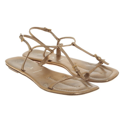 Prada Sandals in goud