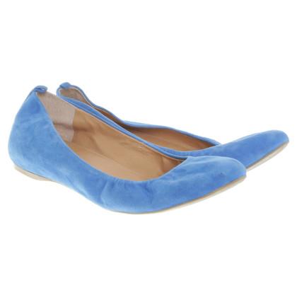 J. Crew Ballerinas in Blau