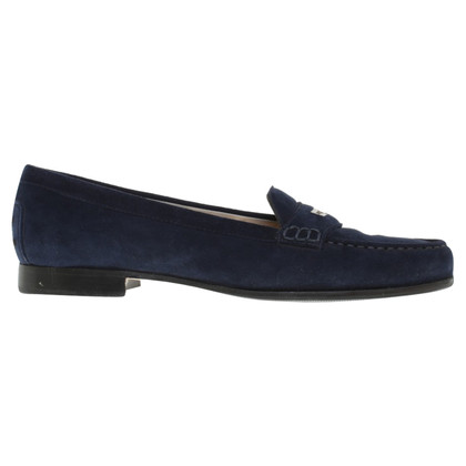 Tod's Slipper in dark blue