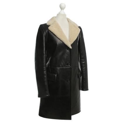 Jil Sander cappotto agnello