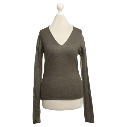 Donna Karan Knit sweater in olive