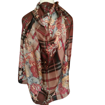 Ralph Lauren Zijden sjaal met print