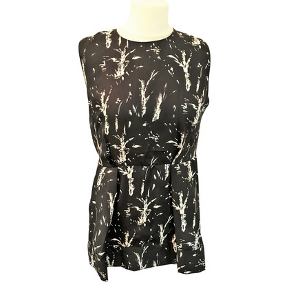 Marni Silk blouse in black / white