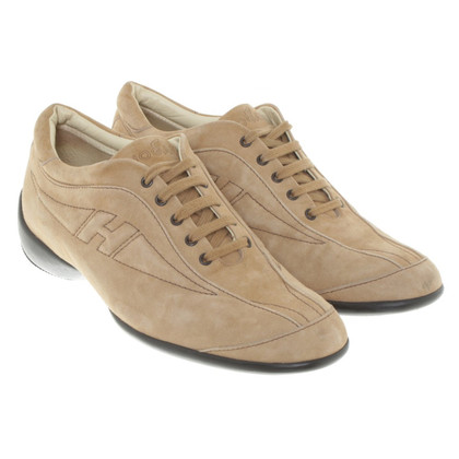 Hogan Lace-up shoes in beige