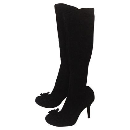 Etro Stiefel aus Veloursleder
