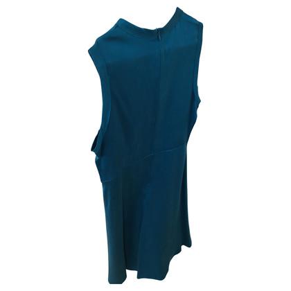 Joseph Turquoise silk dress