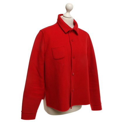 Max Mara Reversing jacket in red