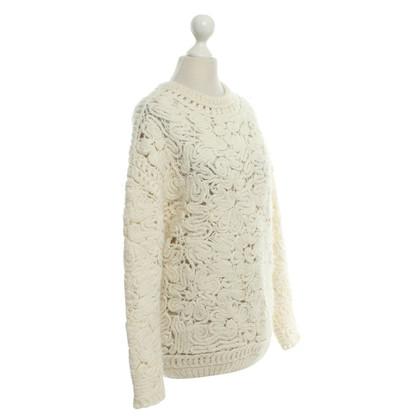 Stella McCartney Knitted sweater in cream