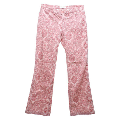 Moschino Patterned trousers in bicolor