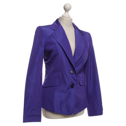 Etro Silk blazer in purple
