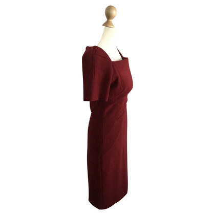 Talbot Runhof Sheath dress in red