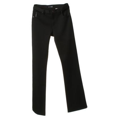 Armani Jeans Hose in Schwarz