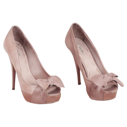 Miu Miu Open teen Heels pumps