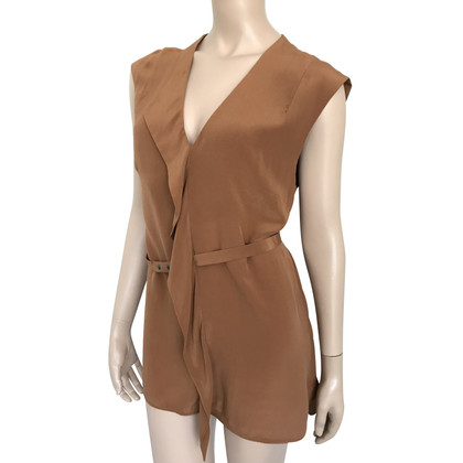 French Connection Rust-brown dress