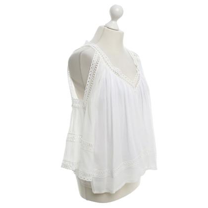 Rebecca Minkoff Blouse in white