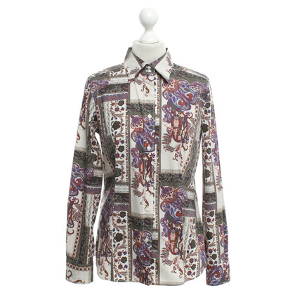 Etro Bluse mit Paisley-Muster