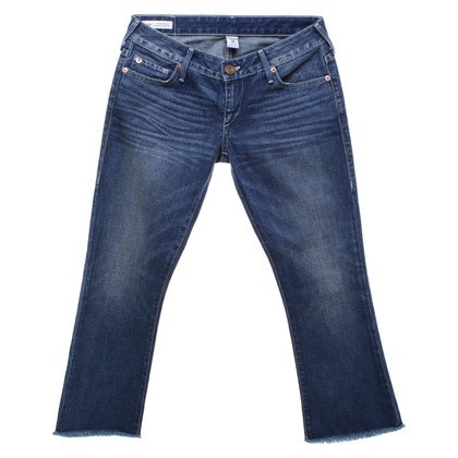 True Religion 7/8 jeans with wash