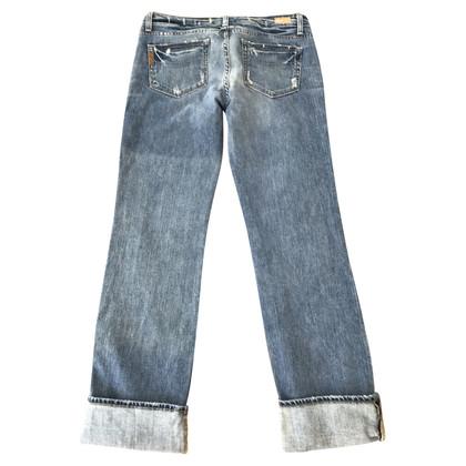 Paige Jeans Boyfriend Jeans Destroyed