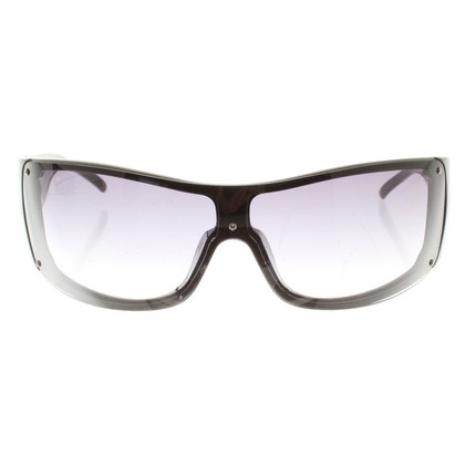 Armani Mono Shade Sunglasses in Taupe