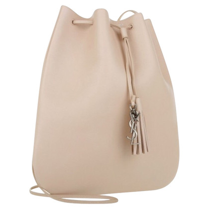 "Saint Laurent ""Jen Medium Flat Bag"" in nude"